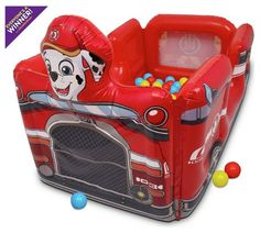 Buy Paw Patrol Inflatable Ball Pit at Argos.co.uk, visit Argos.co.uk to shop online for Ball pits, Playhouses and activity centres, Outdoor toys, Toys