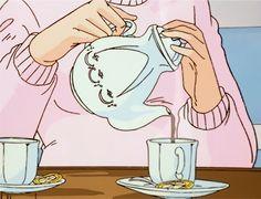tea anyone?  tea anime loop