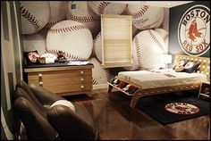 Baseball bedroom decorating ideas and baseball themed decor