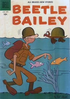 Beetle Bailey Issue # 7 (1956)