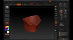 Add Thickness To Single Sided Geometry In ZBrush