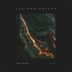 Lucian Blomkamp - Post Nature for Yes Please Records. Art Direction by SamuelBurgess Johnson