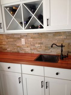 Prefinished Brazilian Cherry Butcher Block Countertop   Add Beauty And  Value To Your Home With Our