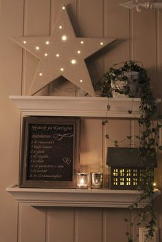 Simple.Idea.Great.Look http://www.lindevegen.no/2012/11/diy-en-julestjerne.html