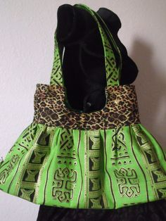 Afrocentric Handmade Purse. $65.00, via Etsy.