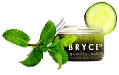 BRYCE ORGANIC SKIN CARE | The Greenhouse-Cultivated Cucumber w. English Mint Purifying Facial Gelee