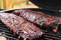 Smoked Ribs are barbecue nirvana. They fall off the bone.