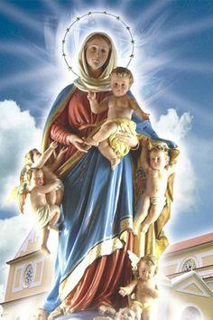 Nossa Senhora Abadia - Nossa Senhora da Abadia é um dos títulos da Virgem Maria. Esta invocação a Maria também é conhecida como Santa Maria do Bouro, pois se originou no Mosteiro (ou Abadia) do Bouro, próximo à cidade de Braga, em Portugal.
