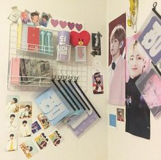 Bts a e s t h e t i c s. Army Room Decor, Bedroom Decor, Army Bedroom, Cute Room Ideas, Bts Merch, Room Goals, Aesthetic Room Decor, Room Tour, Bts Wallpaper