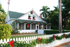 #Christmas at Historic Palm Cottage: Every year the Naples Historical Society showcases historical Palm Cottage, Naples' oldest house, in holiday splendor. This year the cottage is decorated beautifully and elegantly, with twinkling lights inside and out. Get into the holiday spirit with family, friends and visitors while celebrating Naples' past.