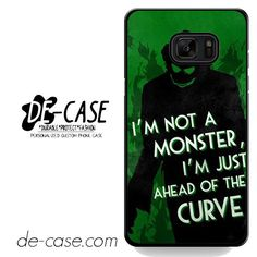 Joker Quotes DEAL-5941 Samsung Phonecase Cover For Samsung Galaxy Note 7