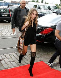 Because Cara slays every red carpet she ever steps on!