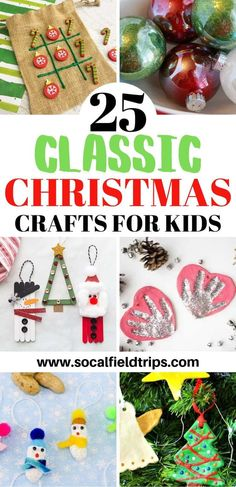 You Can't Help But Get Into The Holiday Spirit When You Make One Of These Fantastic 25 Classic Christmas Crafts For Kids From Making Frosty The Snowman Ornaments Out Popsicle Sticks To Creating Salt Dough Handprint Ornaments To Playing A Game Of Christmas Christmas Crafts For Kids To Make, Christmas Card Crafts, Christmas Activities For Kids, Snowman Crafts, Diy Crafts For Kids, Kids Christmas, Fun Crafts, Snowman Ornaments, Party