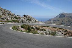 at the top of Sa Calobra