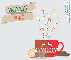 Náš najlepší vianočný punč - veľká vianočná mega súťaž troch  spriatelených blogov o veľa preveľa darčekov