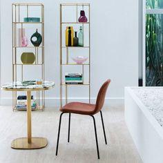Une table de bistrot en marbre esprit Art déco, La Redoute Intérieurs