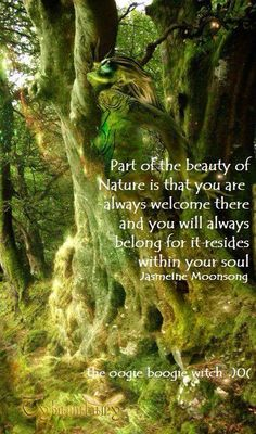 You are always welcome in Nature ~ ♥ ~ As Nature is within You.
