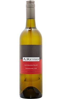 A.Retief Sauvignon Blanc 2014 Tumbarumba - 12 Bottles Wine Tasting Notes, Growing Grapes, Stone Fruit, Sauvignon Blanc, White Wine, Wine Rack, Wine Australia, Alcohol, Wine