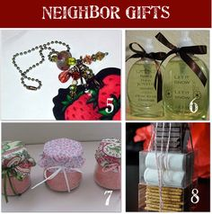 Small Christmas Gift Ideas for Neighbors - these include the links for all 24