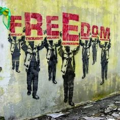 Freedom-Banksy