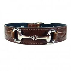 Gucci Style in Rich Brown & Nickel