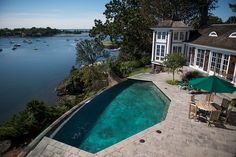 Ahhhh, home at last.  Spilling into the Long Island Sound | WSJ House of the Day - WSJ.com