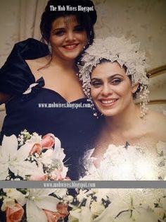 """Wedding of Renee, with sister Jennifer (who produces """"Mob Wives"""") Mob Wives Quotes, The Vindicator, Gangsta Gangsta, Gangsters, Music Lovers, Boss Lady, Mafia, Wedding Pictures, Movies And Tv Shows"""