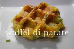 waffel di patate e formaggio | vegetariano | CasaSuperStar
