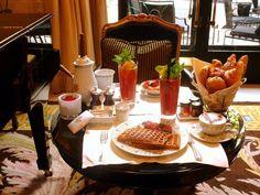 Breakfast @ Four Season Hotel George V, Paris