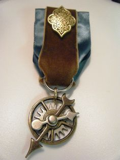 OOAK Steampunk Professor's Medal of Meritorious Research by Dr Brassy Steamington