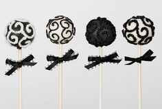 10 delicados popcakes para bodas que te daran pena comer 2