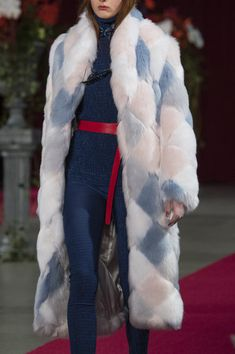 Calvin Luo at New York Fashion Week Fall 2018 - Details Runway Photos