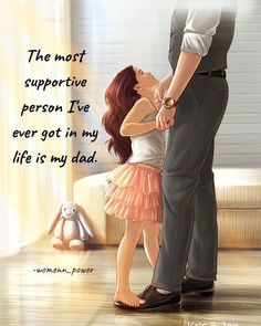 Cute Images With Quotes, Dad Love Quotes, Happy Day Quotes, My Mind Quotes, Dear Self Quotes, Father Daughter Quotes, Cute Quotes For Life, My Diary Quotes, Father Quotes