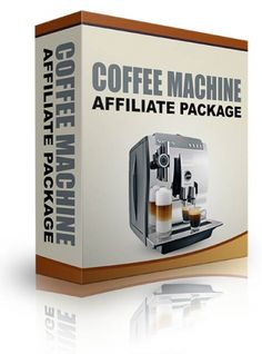 Coffee Machine Affiliate Package - Ebook And Video Series (Resell Rights)