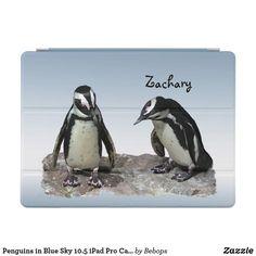 Penguins in Blue Sky 10.5 iPad Pro Case
