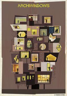 """ARCHIWINDOW: espiando pelos """"olhos da arquitetura"""""""