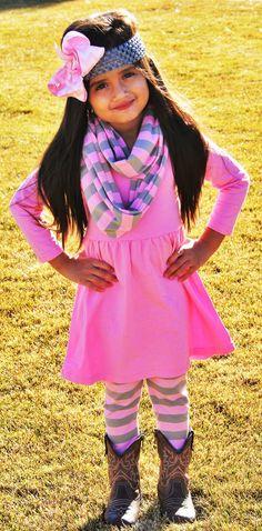 Pink Gray Charlotte 3pc Set #new