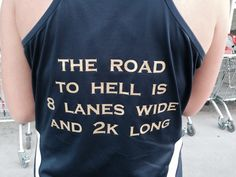 Rowing Style: The Road to Hell is 8 Lanes Wide and 2K Long.