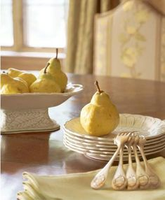 Ripe pears make a simple yet elegant dessert.  Try them baked with a chocolate or berry drizzle (raspberry or blackberry).
