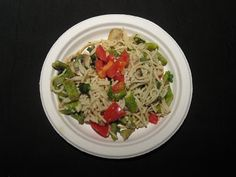 Gluten Free A-Z Blog: Lemon/Garlic Pasta with Mushrooms & Asparagus- Secret Recipe Club