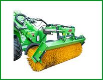 Avant SA has over 100 loader attachments for compact loaders and mini diggers. Rotary, Nerf, South Africa
