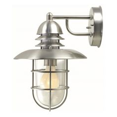$159 Lite Source Lamppost Single-light Outdoor Wall Sconce