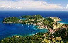 Les Saintes Off the Coast Guadeloupe island