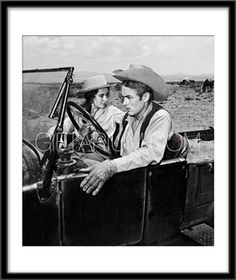 Frank Worth Gallery Elizabeth Taylor and James Dean