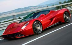 If the new Ferrari Enzo looks like this, we're all for it.
