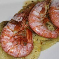 Gambones con patatas y cebolla | Recetas de pescado | Recetas Lékué