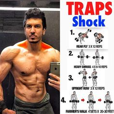 Top 5 Muscle Building Workouts You Should Be Doing Top 5 muscle building exercises you should be doing to build muscle fast and naturally Fitness Workouts, Fitness Motivation, Weight Training Workouts, Gym Workout Tips, Dumbbell Workout, Fun Workouts, Trapezius Workout, Dumbbell Exercises, Lifting Workouts