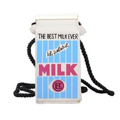 LUI SUI-Mini Milk Cartoon Bag Fashion Style Crossbody bag with Magnetic Closure Cute Cr35 -- Visit the image link more details.