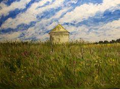 SILO....ENTRADA A CENTINELA DEL MAR Painting, Art, Entryway, Paintings, Painting Art, Kunst, Paint, Draw, Art Education