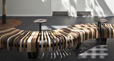 Green Solution House   Green Furniture Concept    Nova C Bench